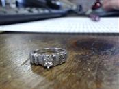 Lady's Platinum-Diamond Wedding Band 11 Diamonds .50 Carat T.W. 950 Platinum